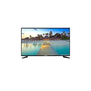 "Nasco LED32C1N Ultraslim HD Digital Satellite LED TV - 32"" Black"