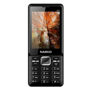 Nasco NS3 Dual SIM 32MB ROM - Black