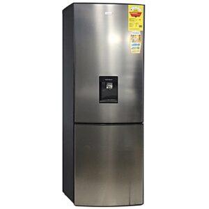Nasco NASD2-40 Refrigerator with Water Dispenser - 307 Litre Silver