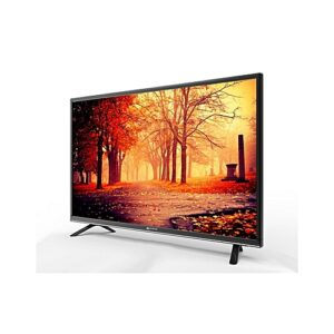 "Nasco LED32C1N Ultraslim HD Digital Satellite LED TV - 32"" Black"