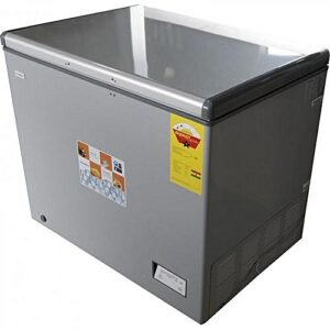 Nasco NAS-300 Chest Freezer - 260 Litre Grey
