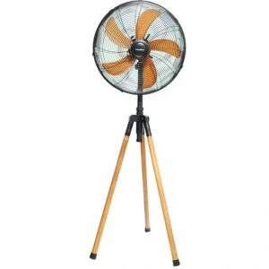 Nasco 18 Inches Standing Fan Brown