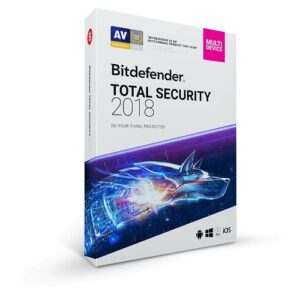 Total Security Multi-Device 2018 - 1 Year 10 Devices