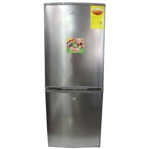 Chigo CRB20CB Double Door Refrigerator – 190 Litres – Silver