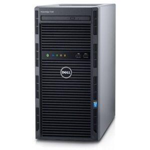PowerEdge T130 Server - Intel Xeon E3-1220-v5 3.0GHz - 1TB HDD - 8GB RAM - OS Not Installed - Black/Grey