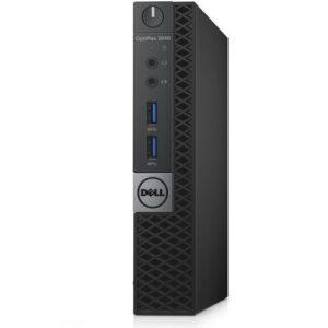 OptiPlex 3040 Micro Tower Desktop - Intel Core i3 - 500GB HDD - 4GB RAM - Windows 10 - Black