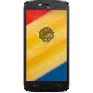 Motorola Moto C Plus 4G Dual SIM 16GB HDD - Black