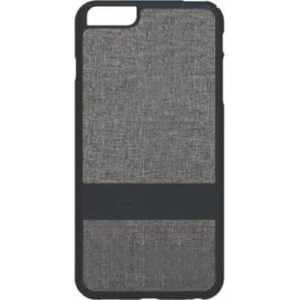 iPhone 6+ Fabric Case - Black/Grey