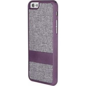 iPhone 6 Fabric Slim Case - Purple/Grey