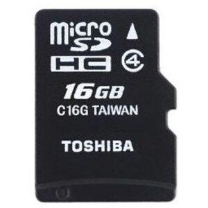 Micro SD Card + Adapter - 16GB Black